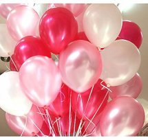 20 Gas filled Pink balloons